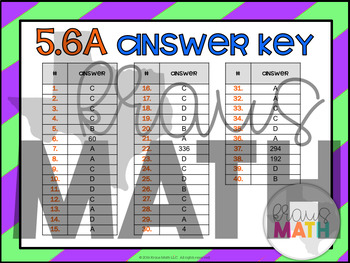 5.6A: Finding Volume with Unit Cubes STAAR Test-Prep Task Cards (5.MD.3 & 4)