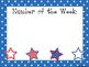 5 4th of July Themed Weekly Focus Posters.