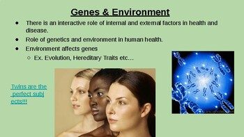 5.5 Environmental Effects on Phenotype Lecture Slides