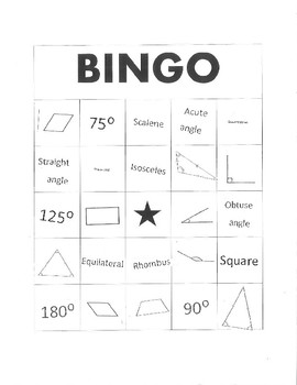 5.5A Bingo Play Cards