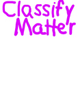5.5A Classifying Matter Anchor Chart