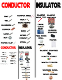 5.5A Conductor/Insulator Card Sort