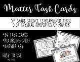5.5A Matter Task Cards {Streamlined TEKS}