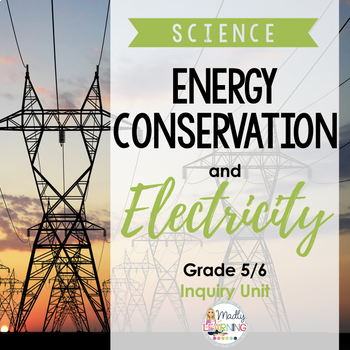5/6 Energy Conservation and Electricity Unit {ONTARIO}