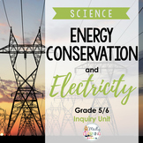 ONTARIO SCIENCE: 5/6 Energy Conservation and Electricity Inquiry Unit
