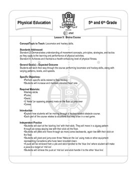 5-6 Grade PE - Lesson 5 Bruins Course