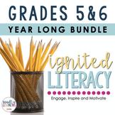 Ignited Literacy - Gr. 5-6 - Full Year {ONTARIO CURRICULUM}