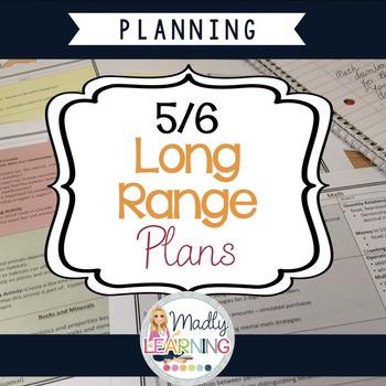 Ontario 5/6 Long Range Plans