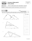 5-6 Triangle Similarity Challenge