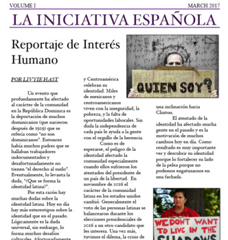 5-7 Day Newspaper Project Spanish 4/AP