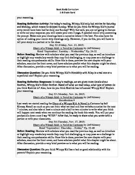 5-8 Grade Band Reading Curriculum/Program (November)