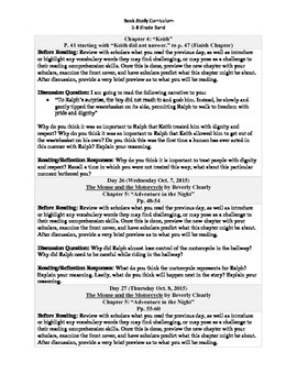 5-8 Grade Band Reading Curriculum/Program (October)