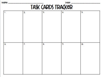 5.8C (DECK 2): Tables to Coordinate Planes STAAR Test Prep Task Cards!