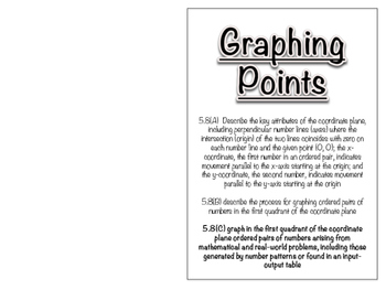 5.8C - Graphing Points in Quadrant I Book