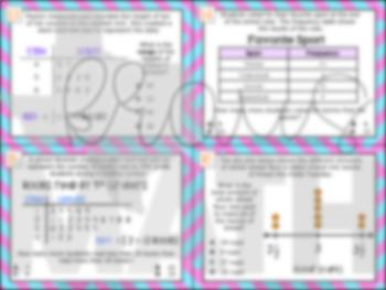 5.9C: Graphs STAAR Test-Prep Task Cards (GRADE 5)