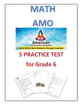 5 AMO Practice test full with detailed answer for grade 6
