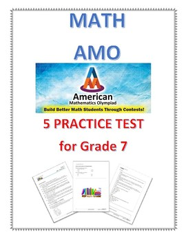 5 AMO Practice test full with detailed answer for grade 7