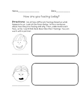 5 Activities for: Our 5 Senses and Our Feelings! Common Core Aligned, Grade 1