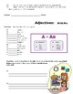 5 Worksheets on Adjectives --FREE--(comparative, superlati