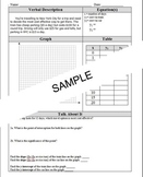 5 Algebra Link Sheets (2 Intersecting Lines)