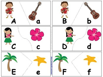 5 Alphabet/Literacy Centers - Beginning of Year - Ocean Theme