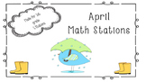 5 April Math Stations