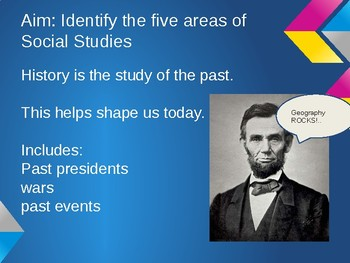 5 Area of Social Studies PPT