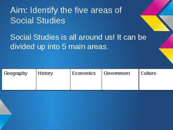 5 Area of Social Studies PPT