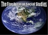 5 Areas of Social Studies Intro. - PowerPoint Presentation