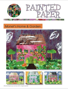 Art Lessons: Claude Monet Inspired Lessons Bundled for Grades 1-5