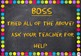 5 B's dotty chalkboard theme classroom display