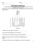 5 Bar Graph/Pictograph Worksheets