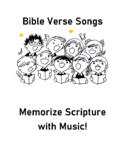5 Bible Verse Melodies: Acts 4:12, Jn 8:12, Matt 7:7, Jn4: