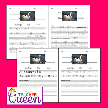 5 Birds No-prep, Differentiated Picture Prompts for Writing