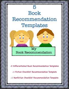 5 Book Recommendation Templates