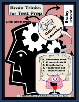 Brain Tricks and Posters for Test Prep - Remember More!
