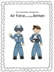 5 Branches of the US Armed Forces Posters & Fact Cards