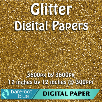 5 Brown Glitter Background Texture Digital Paper