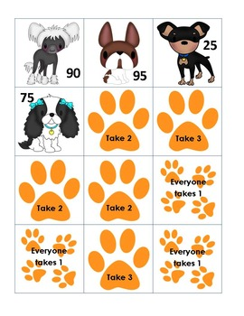 5 Canine Strret - Number Bonds to 100 by 5's