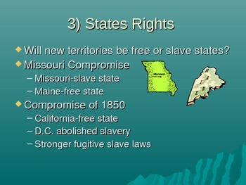 5 Causes of the Civil War