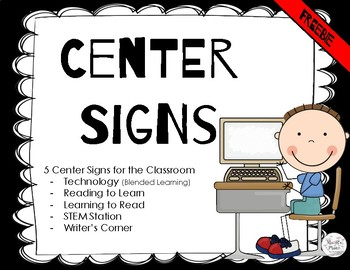 5 Center Signs