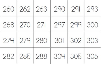 5 Centers for 3-Digit Numbers in Numerals, Number Names, Expanded Form