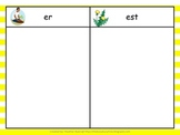 5 Centers for A Weed Is a Flower Gr 2 Unit 3 Week 5 {comparative endings}