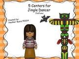 5 Centers for Jingle Dancer Gr 2 {prefixes mis, mid}