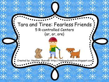 5 Centers for Tara and Tiree: Fearless Friends Gr 2 Unit 2 Week 1 {r-controlled}