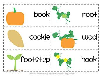 5 Centers for The Life Cycle of a Pumpkin vowels {oo,u} Gr 2 Unit 4 Week 2