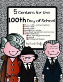 5 Centers for the 100th Day Bundle