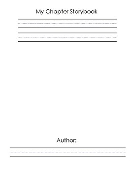 5-Chapter Storybook (Blank)