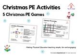 5 Christmas PE Games