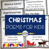 5 Christmas Poems for Kids - Bundle